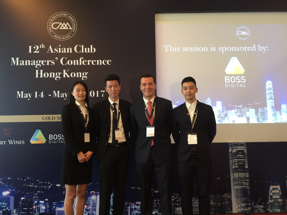 12th Asian Club Managers' Conference in Hong Kong Boss Digital